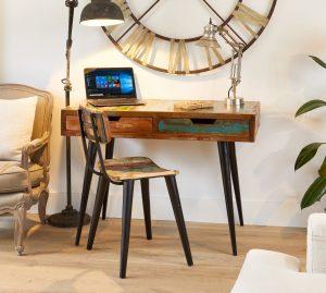 Coastal Chic Laptop Desk / Dressing Table