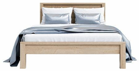 Laguna Oak 4'6″ Double Bed