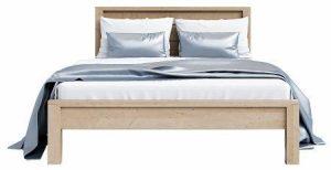 Laguna Oak 5′ King Size Bed