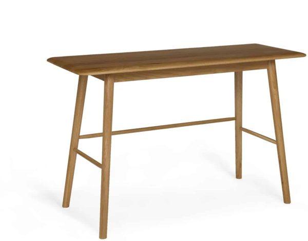 Malmo Scandi Style Oak Console Table