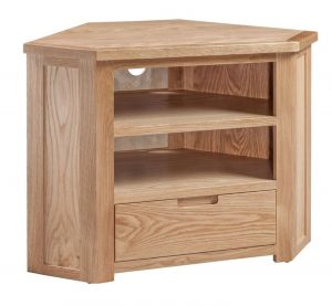 Homestyle Moderna Oak Corner TV Unit