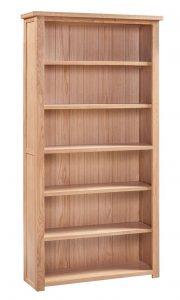 Homestyle Moderna Oak Large Bookcase