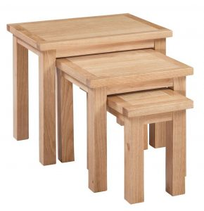 Homestyle Moderna Oak Nest of Tables