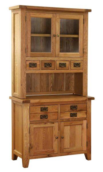 Besp-Oak Vancouver Oak VSP Small Dresser (Complete Unit)