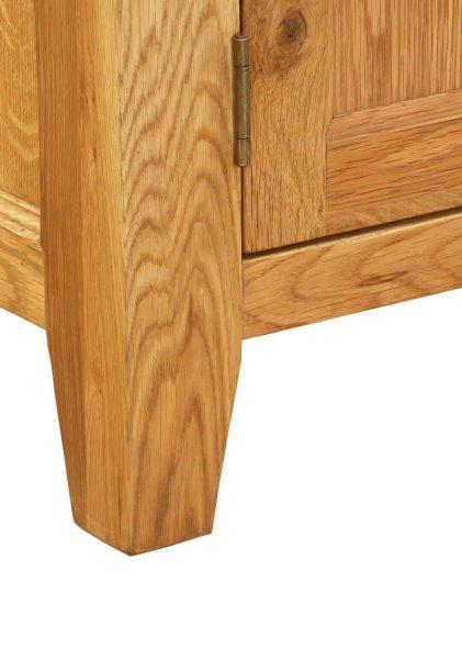 Besp-Oak Vancouver Oak VSP 2 Drawer 2 Door Small Sideboard | Fully Assembled