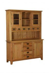 Besp-Oak Vancouver Oak Large Dresser (Complete Unit)