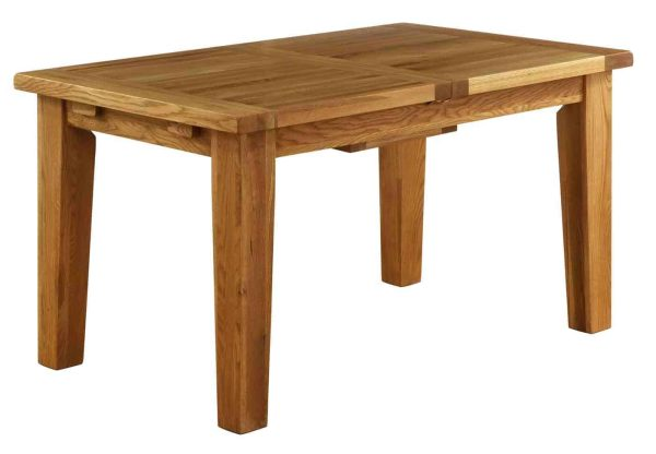 Besp-Oak Vancouver Oak VSP Small Extending Dining Table 1.4M – 1.8M