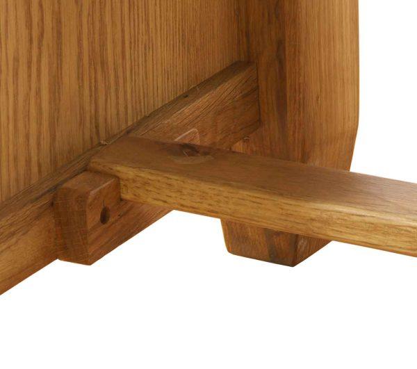 Besp-Oak Vancouver Oak Double Pedestal Desk | Fully Assembled