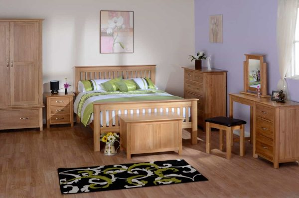 Devonshire New Oak 2 over 3 Chest of Drawers | Fully Assembled