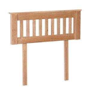 """Devonshire New Oak 4'6"""" Double Bed Headboard"""