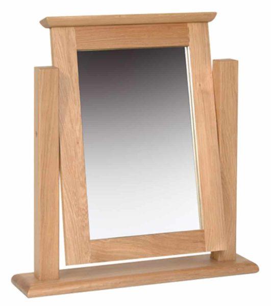 Devonshire New Oak Dressing Table Mirror