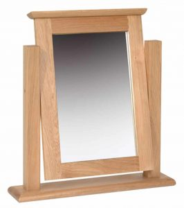Devonshire New Oak Dressing Table Mirror