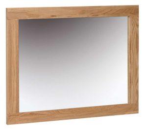 Devonshire New Oak 75cm x 60cm Wall Mirror