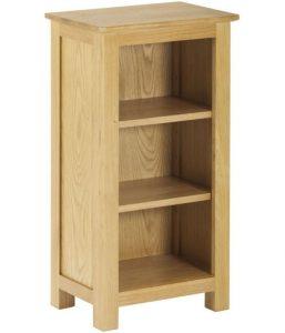 Classic Nordic Oak Mini Bookcase