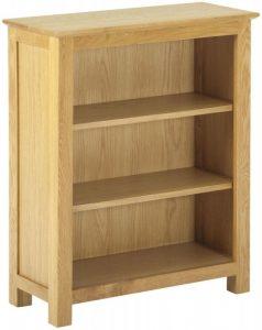 Classic Nordic Oak Low Bookcase