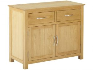 Classic Nordic Oak 2 Drawer 2 Door Sideboard