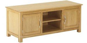 Classic Nordic Oak Plasma TV Cabinet