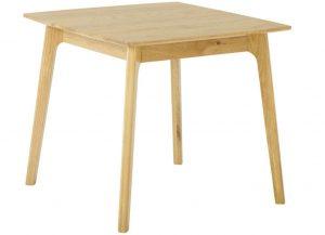 Classic Nordic Oak Square Dining Table