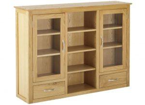 Classic Nordic Oak 3 Door Dresser Top