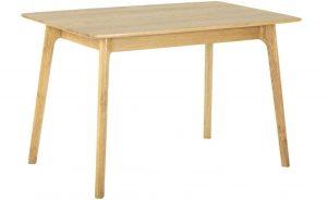 Classic Nordic Oak Rectangular Dining Table
