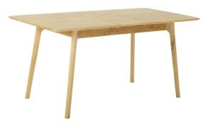 Classic Nordic Oak Extending Dining Table