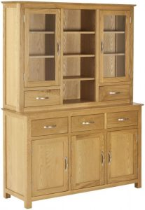 Classic Nordic Oak Dresser (Complete Unit)