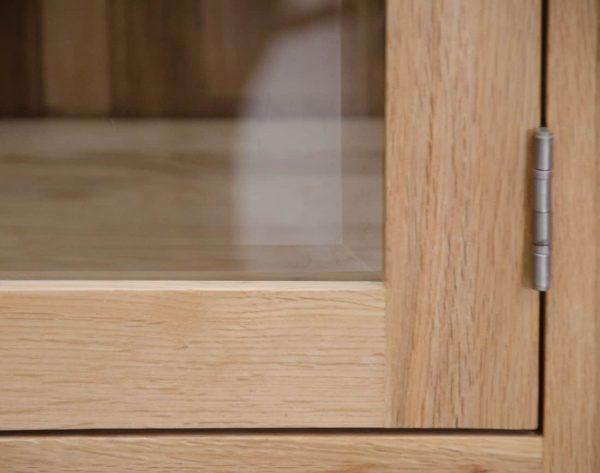 Homestyle Opus Solid Oak Media/Hi-Fi Unit | Fully Assembled