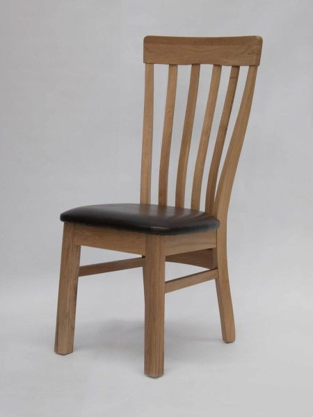 Lucia Oak Dining Chair (Pair)