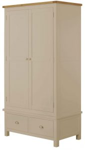 Classic Portland Painted Pebble Gents Wardrobe