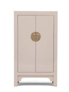 The Nine Schools Qing Oyster Grey Medium Cabinet