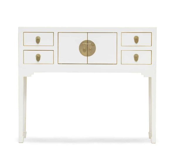 The Nine Schools Qing White Console Table