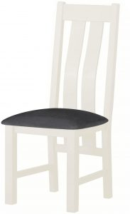 Classic Portland Painted White Dining Chair (Pair)