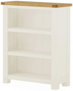 Classic Portland Painted White Small Bookcase