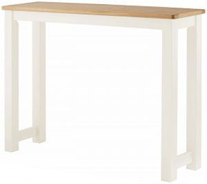 Classic Portland Painted White Breakfast Bar – white