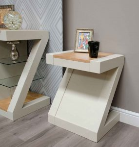 Homestyle Z Painted Lamp Table