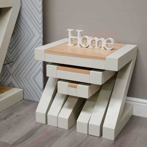 Homestyle Z Painted Nest of Tables