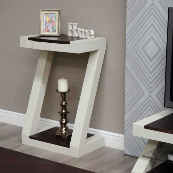 Homestyle Z Painted Small Hall Table
