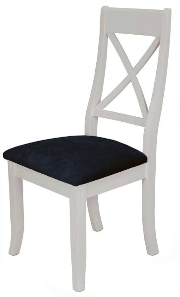 Classic Portland Painted Stone Xback Dining Chair (Pair)