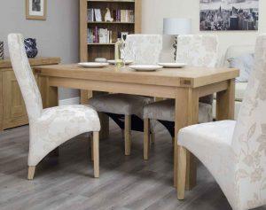 Homestyle Bordeaux Oak 5′ x 3′ Fixed Top Table