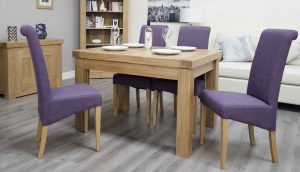 Homestyle Bordeaux Oak Small Extending Table