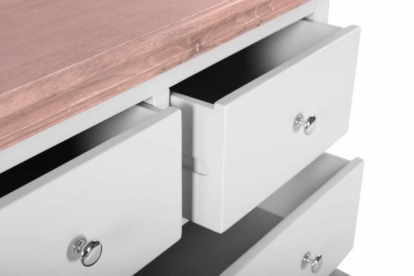 Besp-oak Rosa Painted 4 Drawer Chest