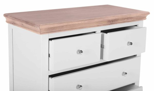 Besp-oak Rosa Painted 5 Drawer Chest