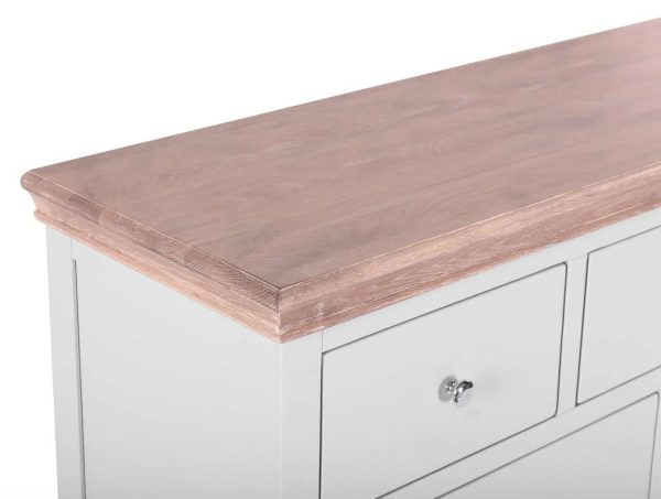 Besp-oak Rosa Painted 7 Drawer Chest