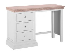 Besp-oak Rosa Painted 3 Drawer Dressing table