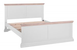 Besp-oak Rosa Painted Low End 5′ King Size Bed