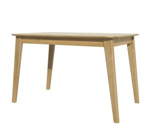 Homestyle Scandic Oak Fixed Top Dining Table