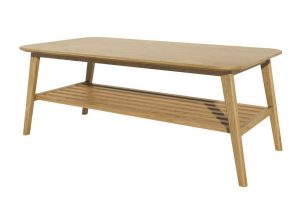 Homestyle Scandic Oak 4′ x 2′ Coffee Table