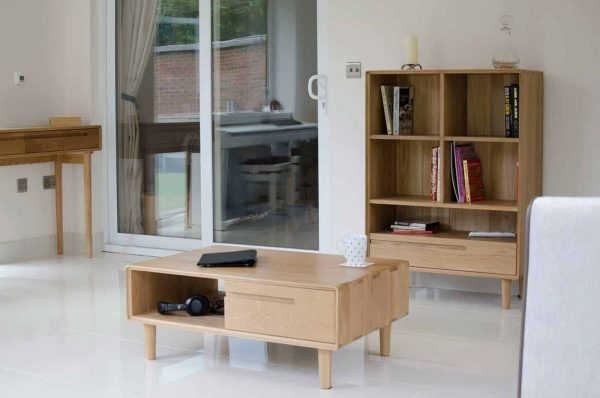 Homestyle Scandic Oak Medium TV Unit – Reduced To Clear