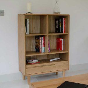 Homestyle Scandic Oak Small Bookcase
