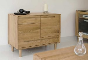 Homestyle Scandic Oak Small Sideboard